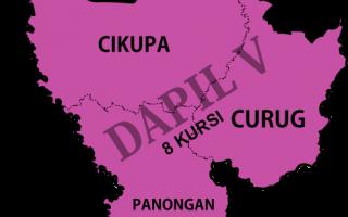 Dapil DPRD Tangerang 5