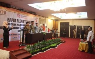 Rapat Pleno Terbuka Penetapan Pasangan Calon Terpilih Pada Pilkada Bupati Tangerang Tahun 2018